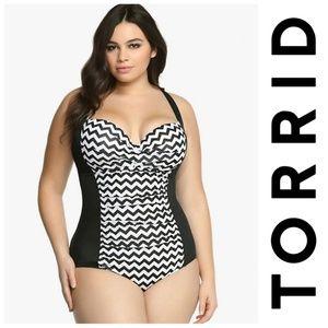 Torrid One Piece Bathing Suit